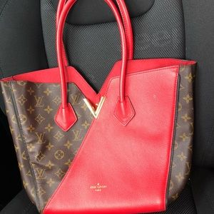 Louis Vuitton kimono handbag with wallet